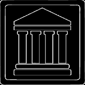 Gerichtssymbol, Tempel