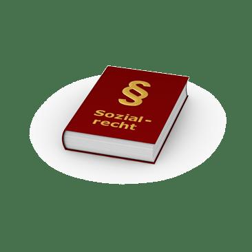 Buch Sozialrecht mit Paragrafenzeichen