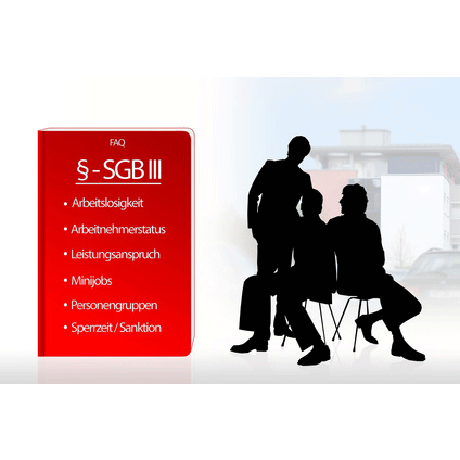 rotes Buch SGB III und Menschen