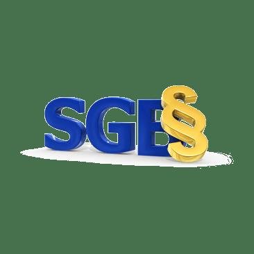 SGB mit Paragrafenzeichen